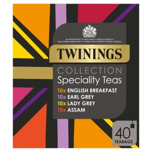 Twinings Speciality Teas Selection Gift Pack 40 per pack