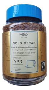 Marks & Spencer Gold Decaf Freeze Dried Instant Coffee 200g