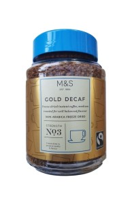 Marks & Spencer Gold Decaf Freeze Dried Instant Coffee 100g