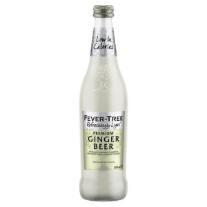 Fever-Tree Refreshingly Light Ginger Beer 500ml