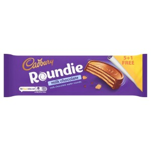 Cadbury Roundie Milk Chocolate Wafer Rounds Biscuits