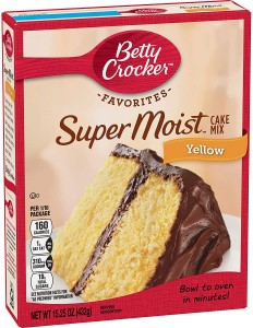 Betty Crocker Super Moist Yellow Cake Mix 432g