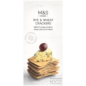 Marks & Spencer Rye & Wheat Crackers 150g