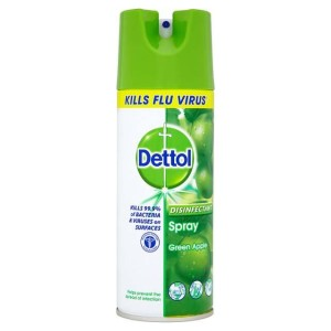 Dettol Disinfectant Spray Green Apple 400ml