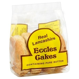 Real Lancashire Eccles Cakes 4 per pack