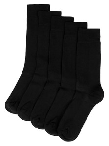 M&S COLLECTION 5 Pack Cool & Freshfeet™ Cushioned Sole Socks