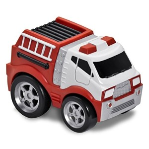 Kid Galaxy Soft and Squeezable Pull Back Vehicle Fire Truck