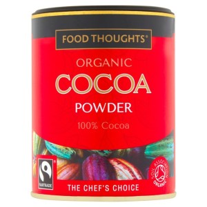 Food Thoughts Fairtrade Organic Cocoa 125g