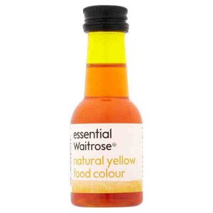 Natural Yellow Food Colouring essential Waitrose 38ml