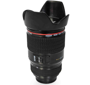 Camera Lens Coffee Mug Black or White