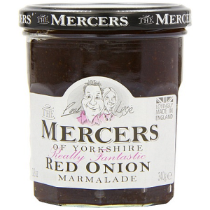 Mercers Red Onion Marmalade Chutney 340g