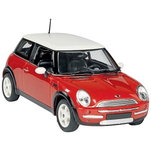 John Lewis Mini Cooper Model, Red