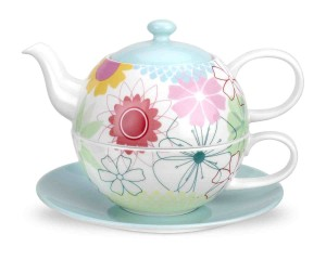 Portmeirion Crazy Daisy Tea for One Set