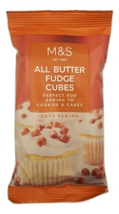 Marks & Spencer Love Baking All Butter Fudge 100g