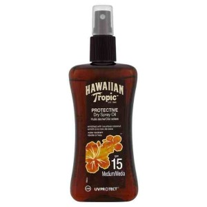 Hawaiian Tropic Protective Dry Spray Oil SPF 15 200ml