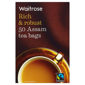 Waitrose Rich & Robust 50 Assam Tea Bags