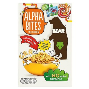 Bear Alphabites Multigrain Shapes Cereal 375g