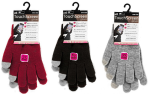 Ladies Touch Screen Stretch Gloves