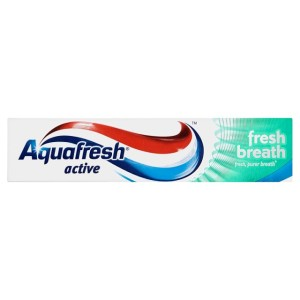 Aqufresh Active Fresh Breath Toothpaste 100ml