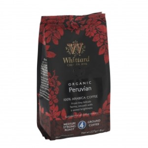 Whittard of Chelsea Organic Peruvian Ground Coffee 227g