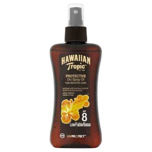 Hawaiian Tropic Protective Dry Spray Oil SPF 8 200ml