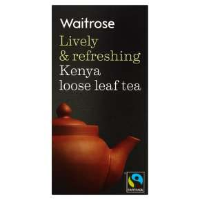 Kenya Loose Leaf Tea Waitrose 125g