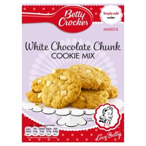 Betty Crocker White Chocolate Cookie Mix Pouch 200g