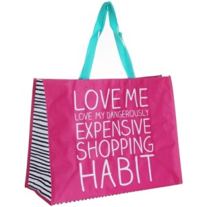 Happy Jackson Love Me Shopper Bag