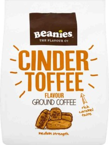 Beanies Cinder Toffee Ground Coffee 125g