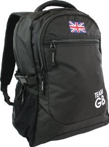 London Olympics 2012 Team GB Union Jack Black Rucksack