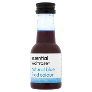 Natural Blue Food Colouring essential Waitrose 38ml