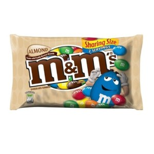 American Almond Chocolate m&m's 80g