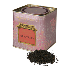 Fortnum & Mason Black Tea with Strawberry, Loose Leaf Tin 125g