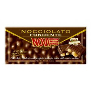 Nocciolato Extra Bitter Chocolate with Whole Hazelnuts 130g