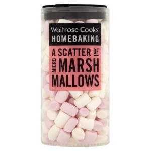 Micro Marshmallows Waitrose 20g