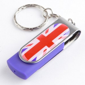 Ricco 8 GB Union Jack USB 2.0 High Speed Flash Memory Drive