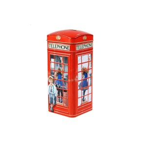 Churchill's Telephone Kiosk Money Box with Toffees 200g