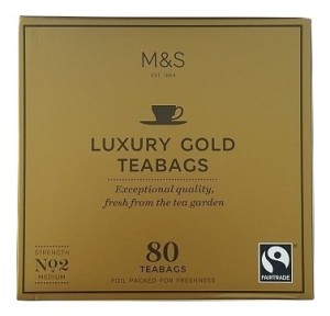 Marks & Spencer Luxury Gold Tea 80 Teabags
