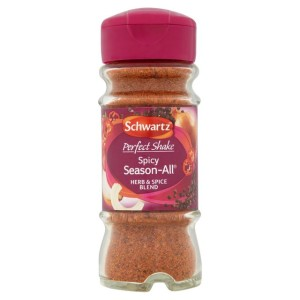 Schwartz Perfect Shake Spicy Season All Seasoning Jar 47g