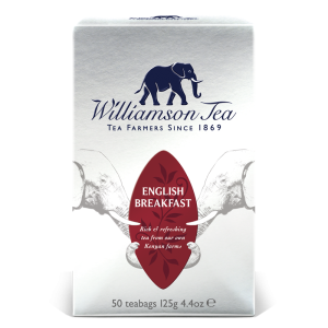 Williamson Fine English Breakfast Tea 50 bags