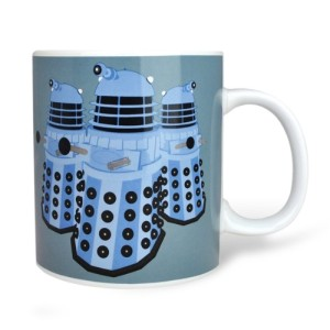 Doctor Who Daleks Mug Exterminate 350ml