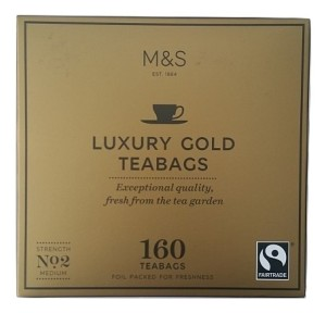 Marks & Spencer Luxury Gold 160 Teabags