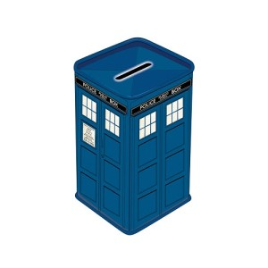 Doctor Who TARDIS Metal Money Box