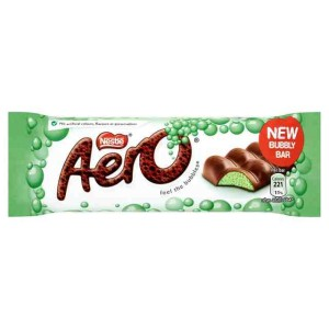 Aero Peppermint chocolate bar 27g