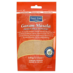 East End Garam Masala Mixed Spice Powder 100g