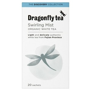 Dragonfly Organic Swirling Mist White Tea 20 per pack