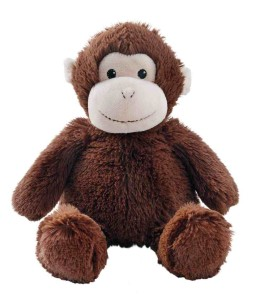 Cozy Hotties Monkey With A Microwaveable Lavender Scented Insert