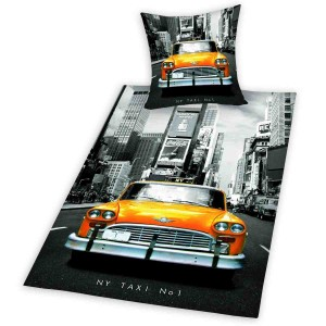 New York Taxi Cotton Bed Linnen