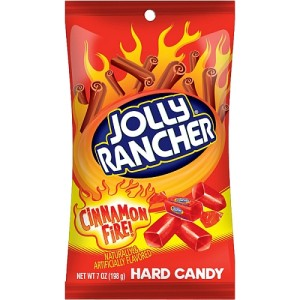 JOLLY RANCHER Cinnamon Fire Flavour Hard Candy 198g