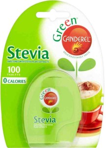 Canderel Green Stevia Sweetener 100 Tablets